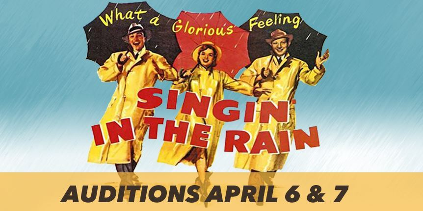 Singing in the Rain Auditions